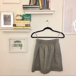 J. Crew Wool Sidewalk Skirt